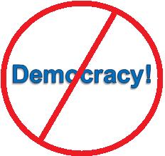 anti-democracy